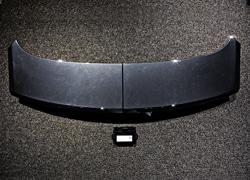panamera971改装turbo折叠电动尾翼