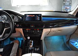 宝马X5升级evo主机 互联驾驶 氛围灯